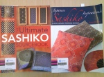 Books about Sashiko in English by Susan Briscoe