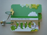 Mini Dolls Scrapbook Album
