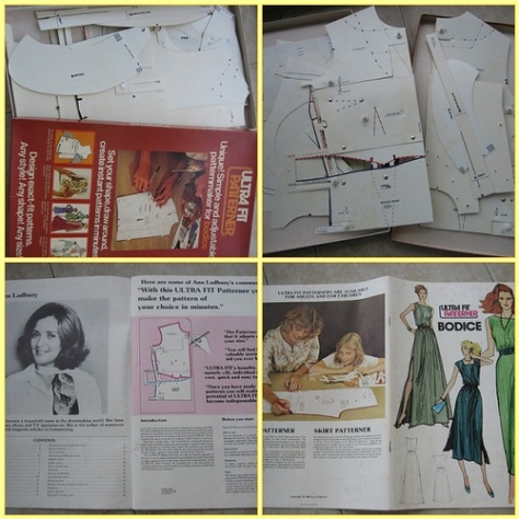 "Vintage Dress Making Pattern ""Ultra Fit Patterner"""