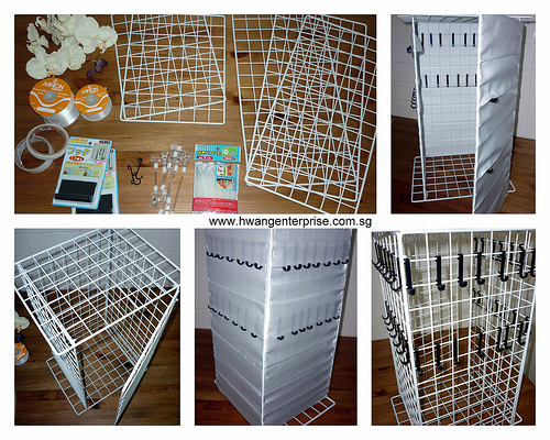 Booth Display for Fair – DIY Display Shelf for Necklaces | Zorgball ...